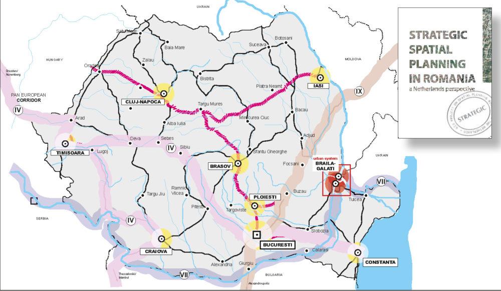 strategic spatial planning in Romania