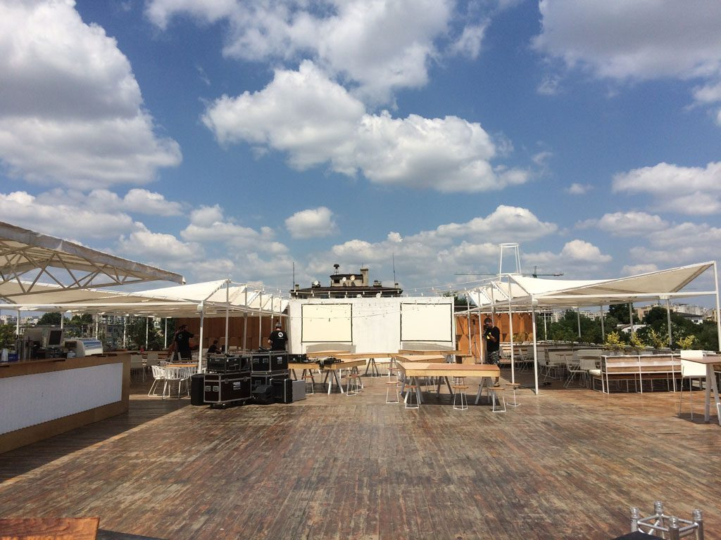 Rooftop Deschis Gastrobar, Bucharest Metropolitan Fieldtrip